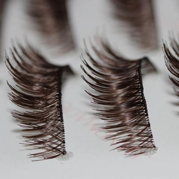 Brown ¾ lash in Bulk 10 Pair Pack